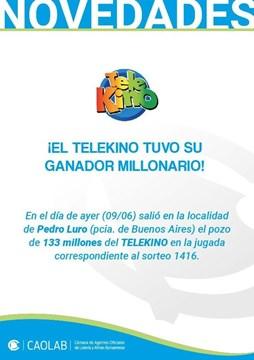 Ganó 133 millones, autos y dos casas con su boleta de Telekino pero no aparece