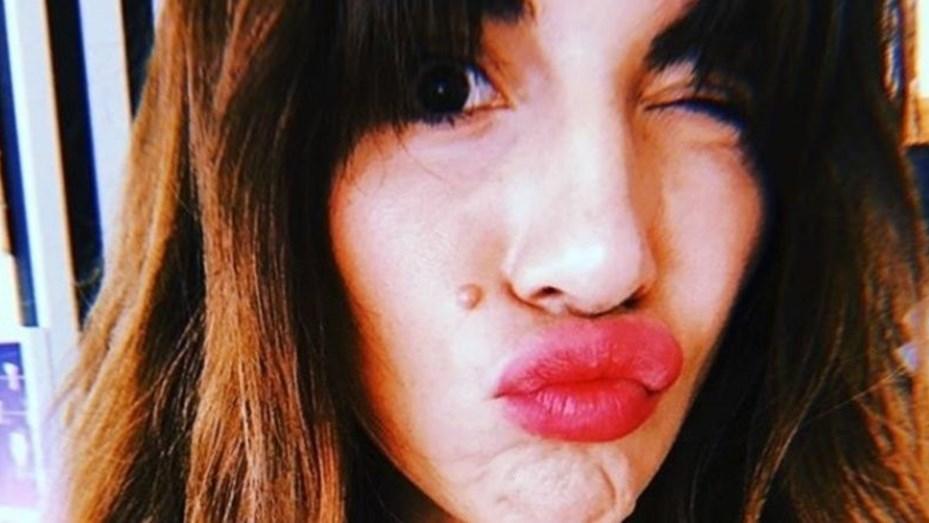 1b9b31bc92bd Gianinna Maradona subió a Instagram una foto en ropa interior ...