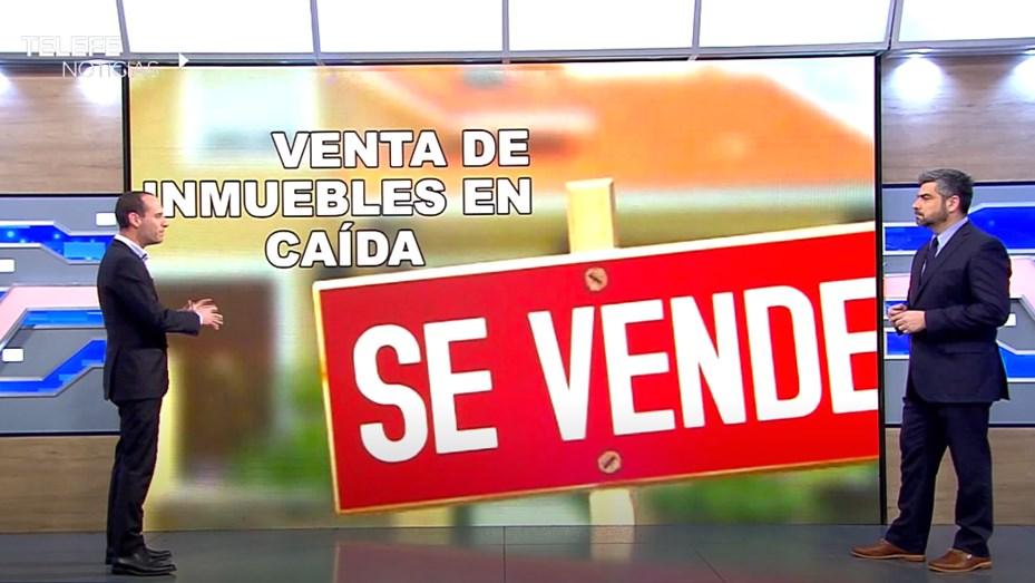 La venta de inmuebles continúa en caída - Telefe Rosario