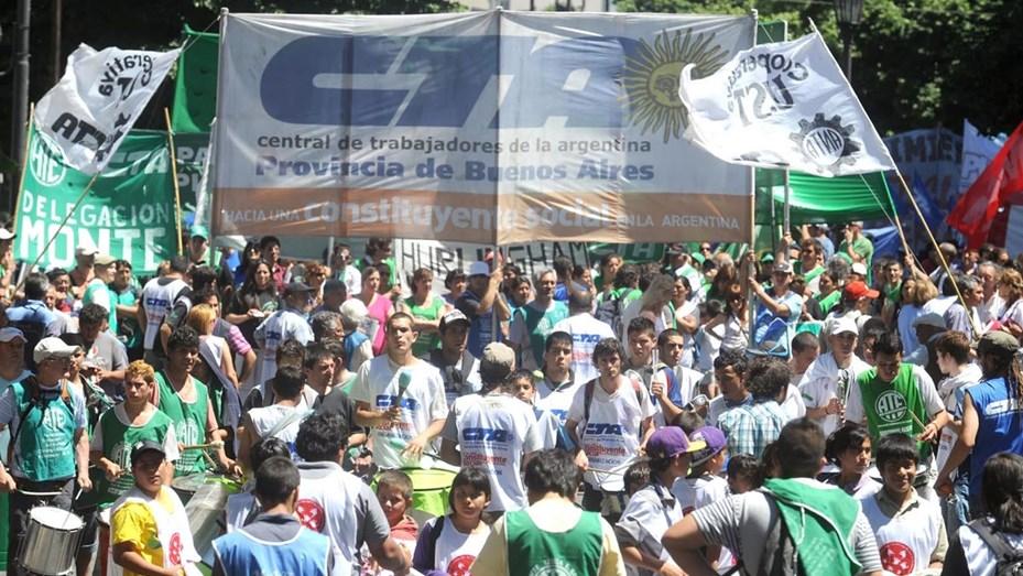 ATE y CTA Autónoma realizarán un paro nacional con movilización - Telefe  Mar del Plata