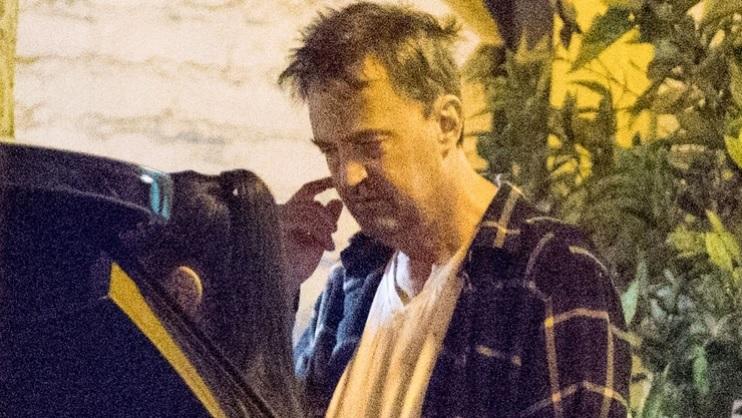 Aspecto de Matthew Perry preocupa a sus seguidores
