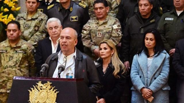 """Bolivia: Murillo anunció que publicará nombres de legisladores """"subversivos"""" - Telefé Noticias"""