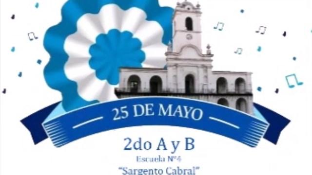 Acto escolar del 25 de mayo: celebrar la Patria en tiempos de pandemia - Telefe Santa Fe