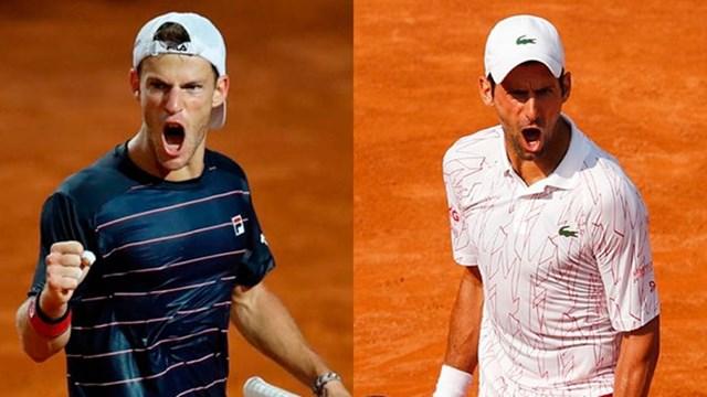 Diego Schwartzman va por la gloria ante Djokovic en Roma ...