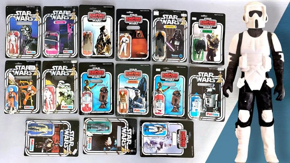 Hallaron en bolsas de basura una colección de Star Wars que vale US$ 500  mil - Telefe Córdoba