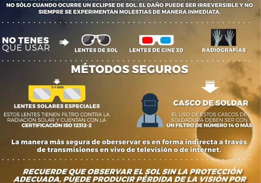 Eclipse solar que oscurecerá Sudamérica alcanza tierra en Chile