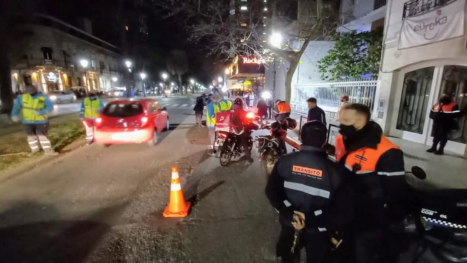 Los festejos por el Día del Amigo terminaron con un bar clausurado y 28 vehículos remitidos al corralón.