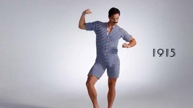 dcf8fb3dcd79 Cómo evolucionó el traje de baño masculino en 100 años - Telefe Noticias